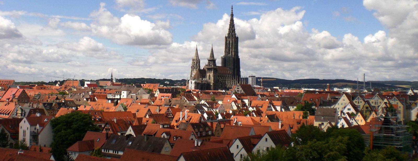 Ulm-silhouette-bild